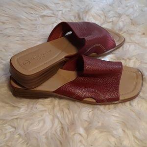 NyOT Montego bay Club maroon sandals